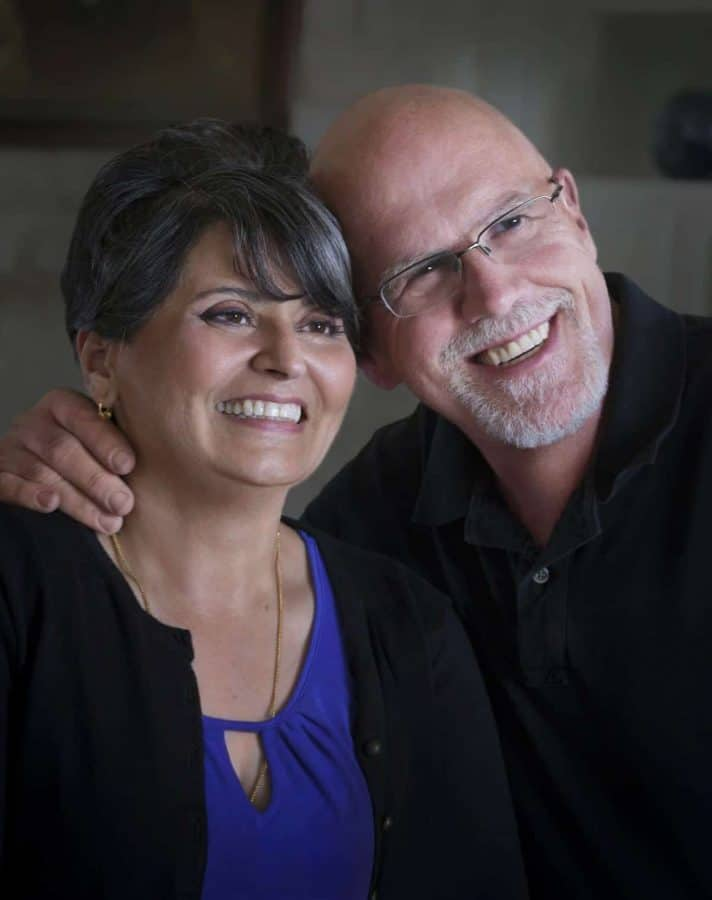 Photo of Urvashi Pitre & Roger Gorman