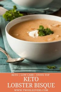 keto lobster bisque