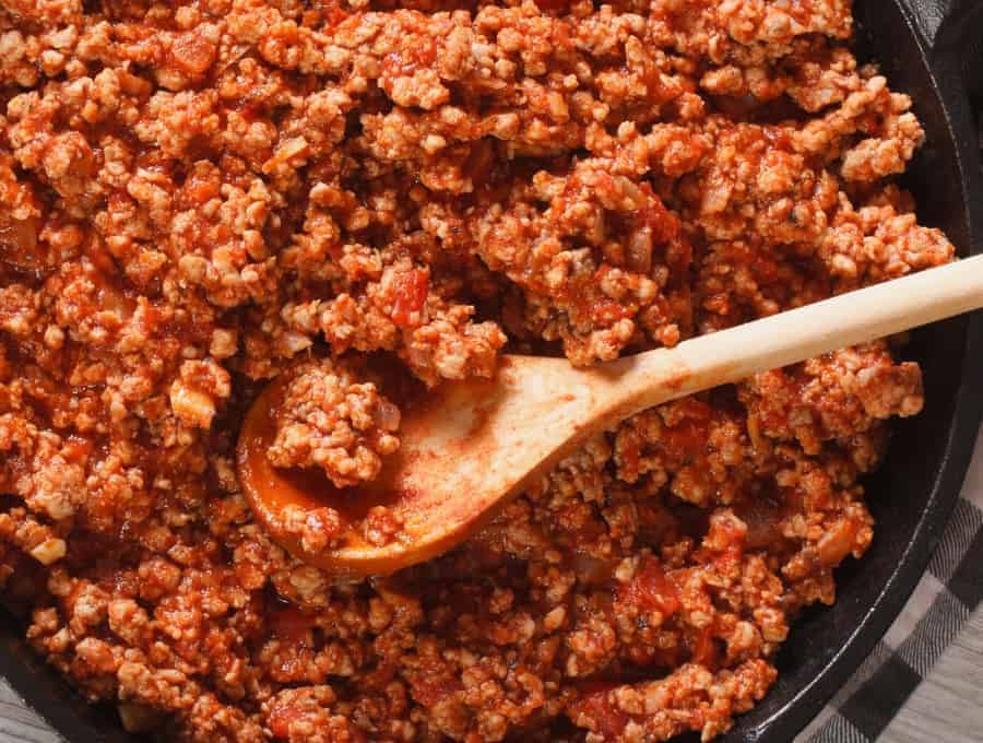 Ethiopian Beef Stew Wide Shot
