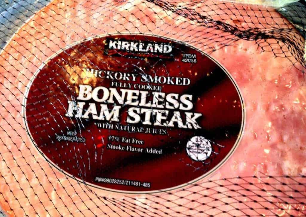 ham steaks from costco www.twosleevers.com