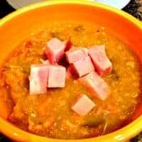 Instant Pot Split Pea and Ham Soup