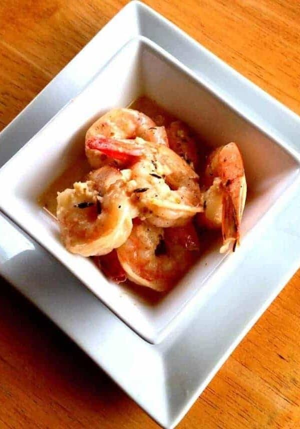 Creamy Spicy Shrimp