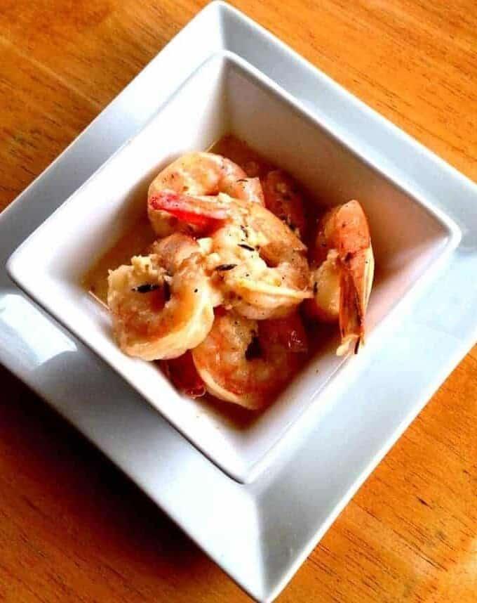 Creamy Spicy Shrimp