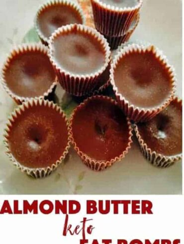 3-ingredient almond butter chocolate keto fat bombs cook in less than 5 minutes in your microwave. Chill overnight and enjoy when you're craving some chocolate.