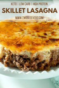 Low Carb Lasagna Pinterest