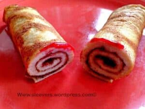 High Protein, Low Carb  2- ingredient Crepes