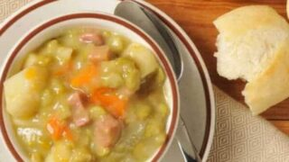 Split Pea Soup with Ham | A Simple and Hearty Soup
