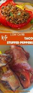 Low carb, keto make ahead appetizer of Taco stuffed peppers is an easy, delicious appetizer. Make it your way by adding cheese, cream cheese or wrapping it with bacon. Great keto appetizer that is sure to please everyone
