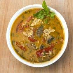 Low Carb Thai Yellow Curry Soup