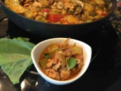 Panang Curry with Chicken & Vegetables