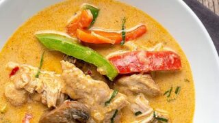 Amazing Instant Pot Thai Panang Curry |