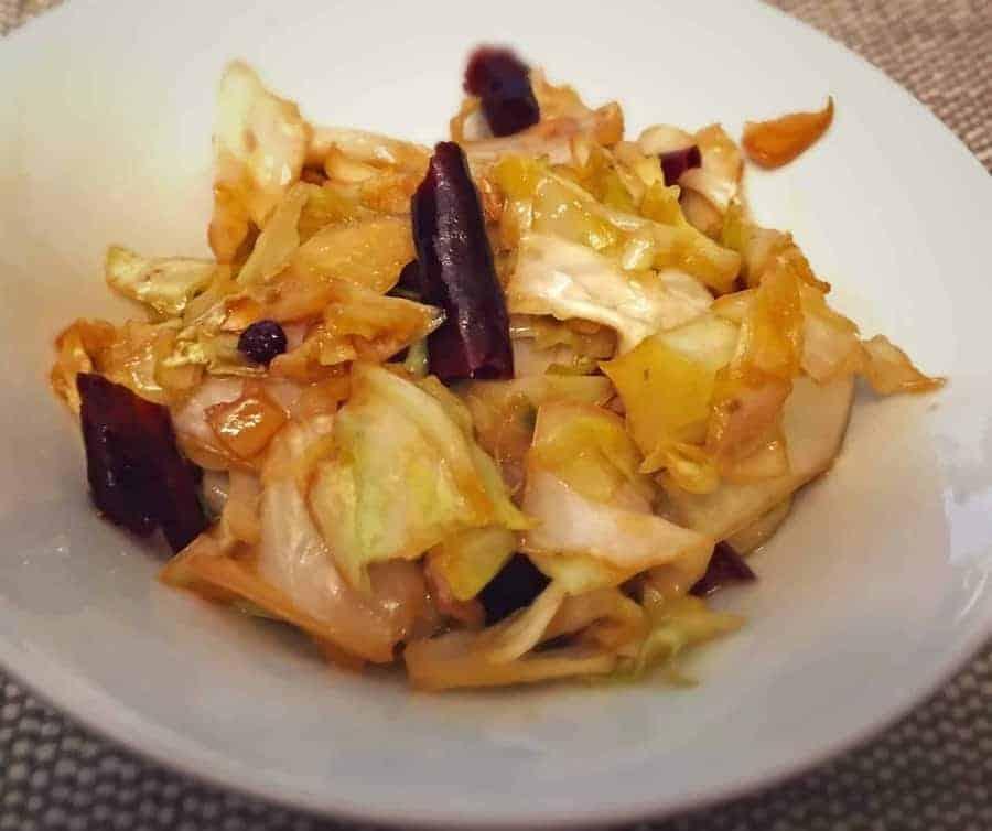 Szechuan Cabbage