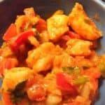 Shrimp with Pico de Gallo & Guacamole