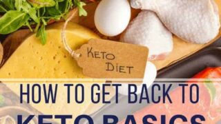 Keto Basics | 10 Things to Get Back to Keto Basics