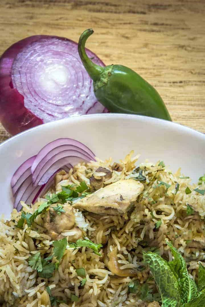 How to cook biryani with basmati rice in electric cooker