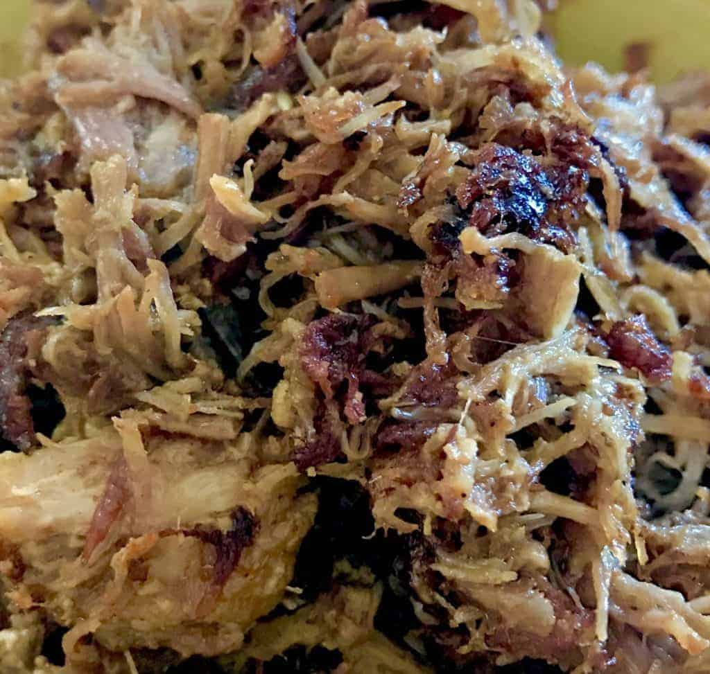 Crispy pork carnitas 1024x973 - Pressure Cooker High Protein Pork Carnitas - https://twosleevers.com