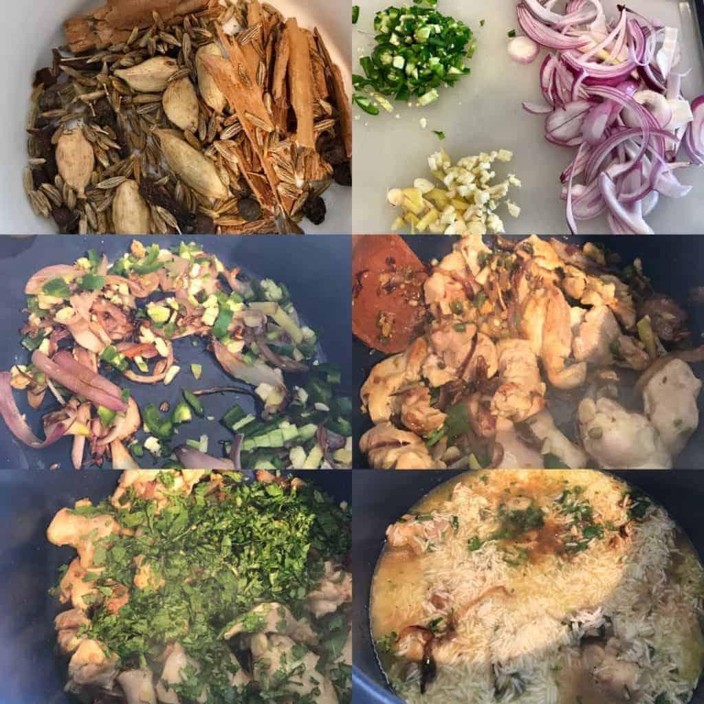 IMG 2624 1024x1024 - Pressure Cooker Chicken Biryani - https://twosleevers.com