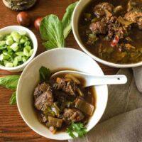 Instant Pot Low Carb Szechuan Pork Soup
