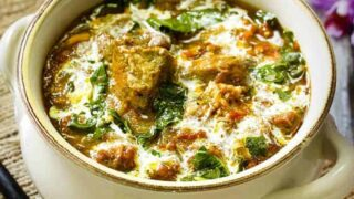 Pork Saag | Low Carb Pork Saag | Instant Pot Recipe