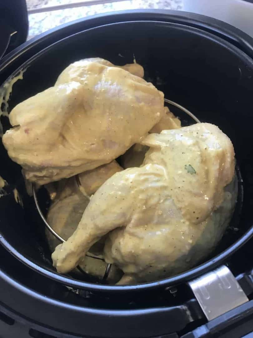 how to cook cornish hens in air fryer