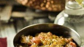 Pressure Cooker Indian Eggplant Baingan Bharta