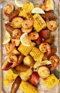 Instant Pot Cajun Shrimp Boil