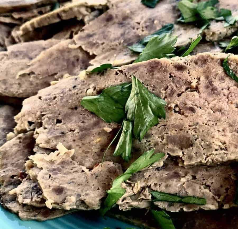 Home made gyro meat made in your Instant Pot. Using your pressure cooker to get authentic-tasting gyro meat is a game changer!