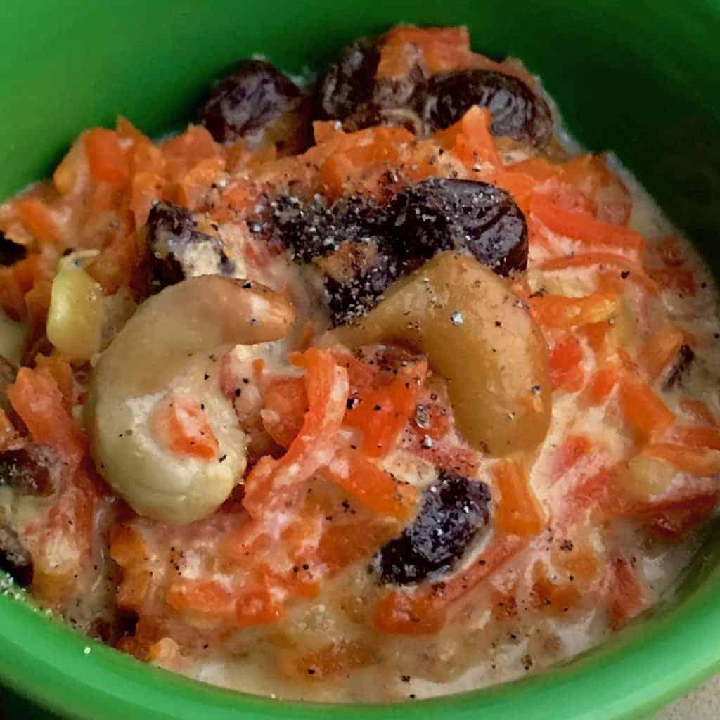 IMG 3155 1024x1024 - Pressure Cooker Carrot Halva Dessert - https://twosleevers.com