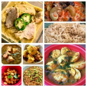Indian Cooking from your Pressure Cooker for a Week