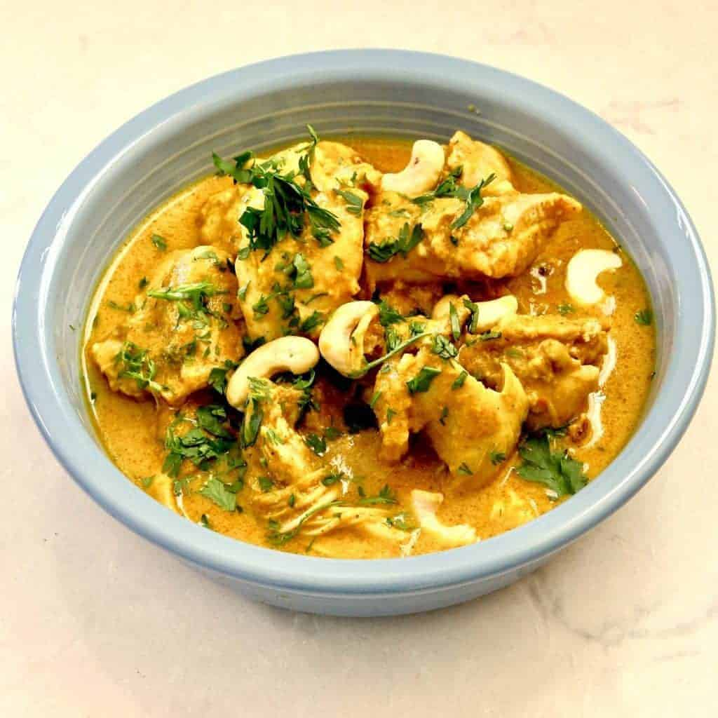 Instant pot indian chicken korma two sleevers instant pot indian chicken korma simple way to make an authentic creamy korma forumfinder Gallery