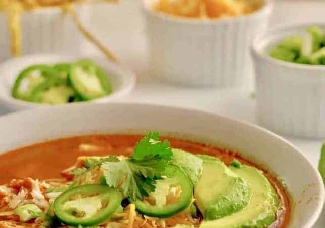 If this Instant Pot chicken Tortilla Soup isn't the easiest and best one you've had, send me your favorite recipe because this one will be hard to beat. Authentic Mexican recipe for your pressure cooker.