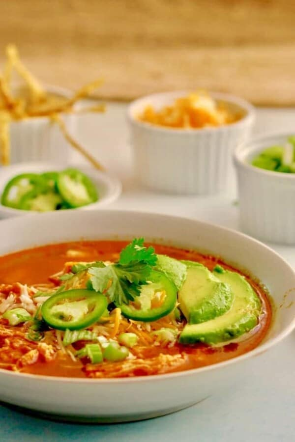 Instant Pot Chicken Tortilla Soup Featured Image