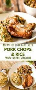 Pressure Cooker Pork Chops