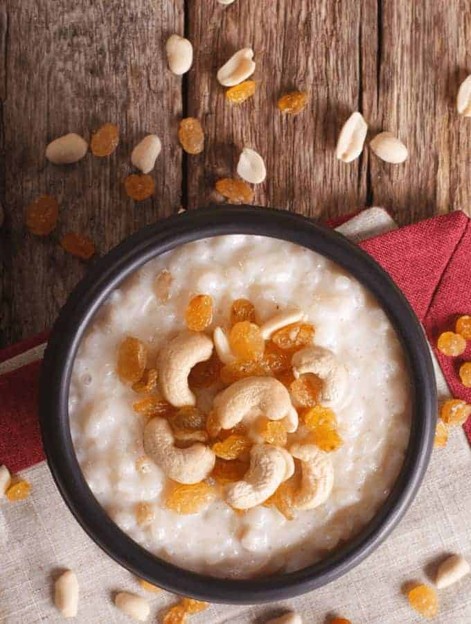 Indian Rice Pudding | Indian Kheer | TwoSleevers