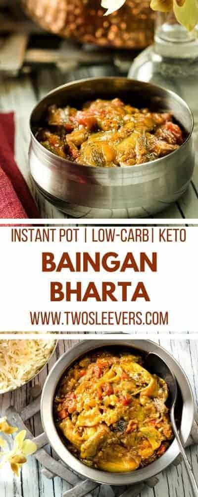 Instant Pot Baingan Bharta