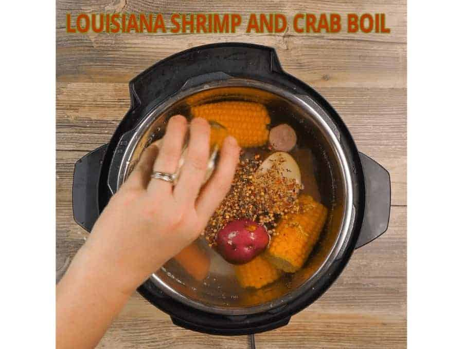 Cajun Shrimp and Sausage Boil in Instant Pot