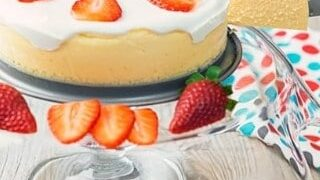 Low-Carb Cheesecake | Instant Pot Cheesecake