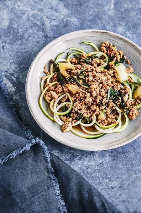 Pressure Cooker Keto Bo-Ssäm Style Pork & Noodles
