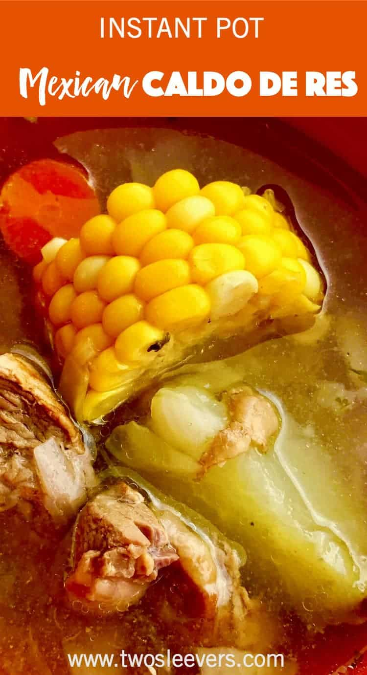 Instant pot authentic caldo de res gives you real Mexican flavor in less than an hour. Light, flavorful, and comforting way go create a traditional Mexican recipe in your pressure cooker.