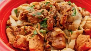 Low Carb Dan Dan Style Chicken | Pressure Cooker Recipe