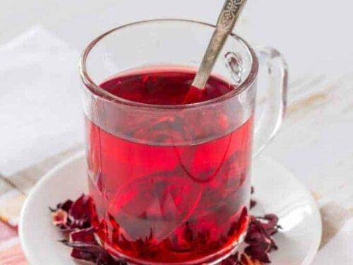 Hibiscus Tea Agua De Jamaica Two Sleevers