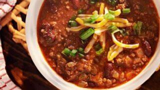 Keto Instant Pot Chili