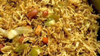 Pressure Cooker Maharashtrian Masalé Bhat