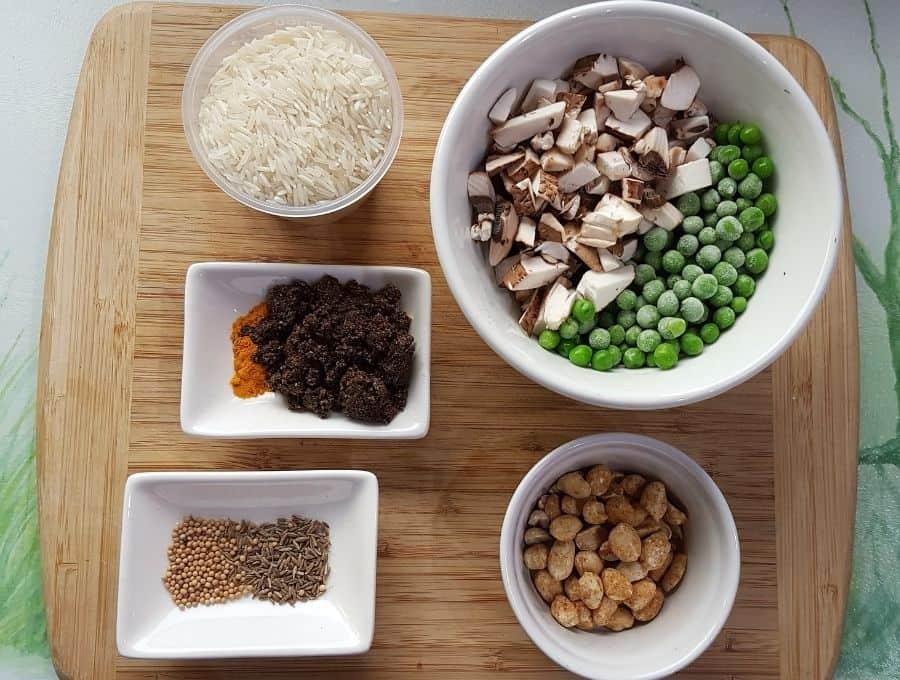 Masale Bhat Ingredients