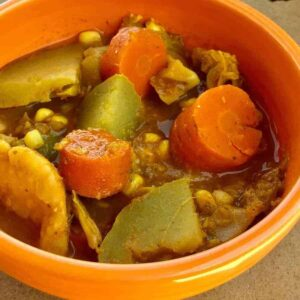 "Pressure cooker Mixed Vegetable Indian ""Rassa"""