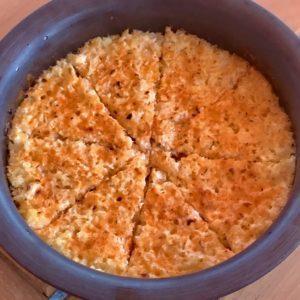 Pressure Cooker Keto Cauliflower and Cheese