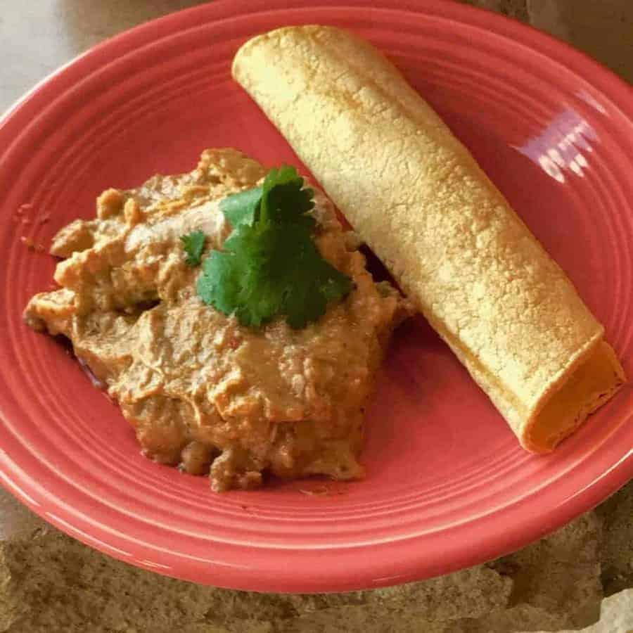 Pressure Cooker Enchilada Casserole