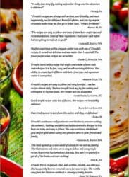 Testimonials for the Mexican Cookbook https://twosleevers.com/shop/