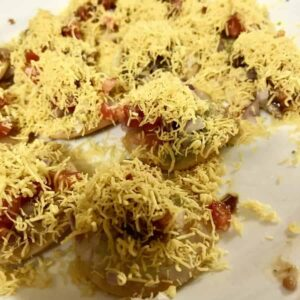Dinner in India on Day One: leftovers, SBDP, ice cream & mango burfi
