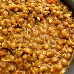 Pressure Cooker Sprouted Beans Indian Ussal
